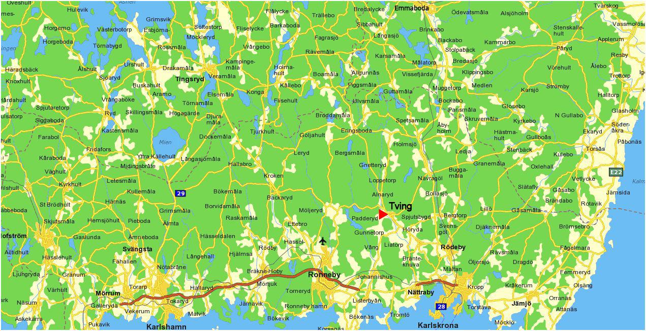 Karta 246 Versikt